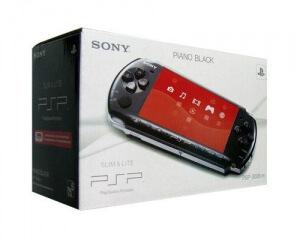 Sony Playstation Portable Slim & Lite PSP 3004 + 8 GB карта памяти